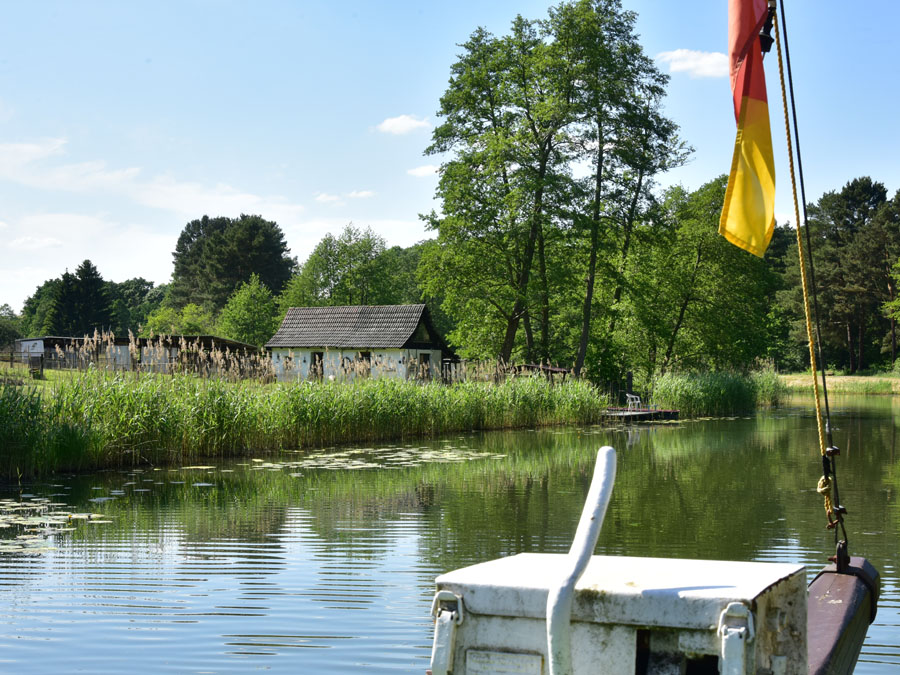 Friedrich-Wilhelm-Kanal - Kahnfahrt