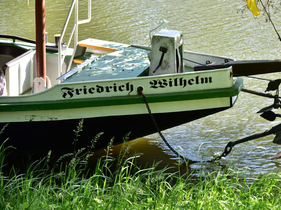 Treidelkahn Friedrich Wilhelm